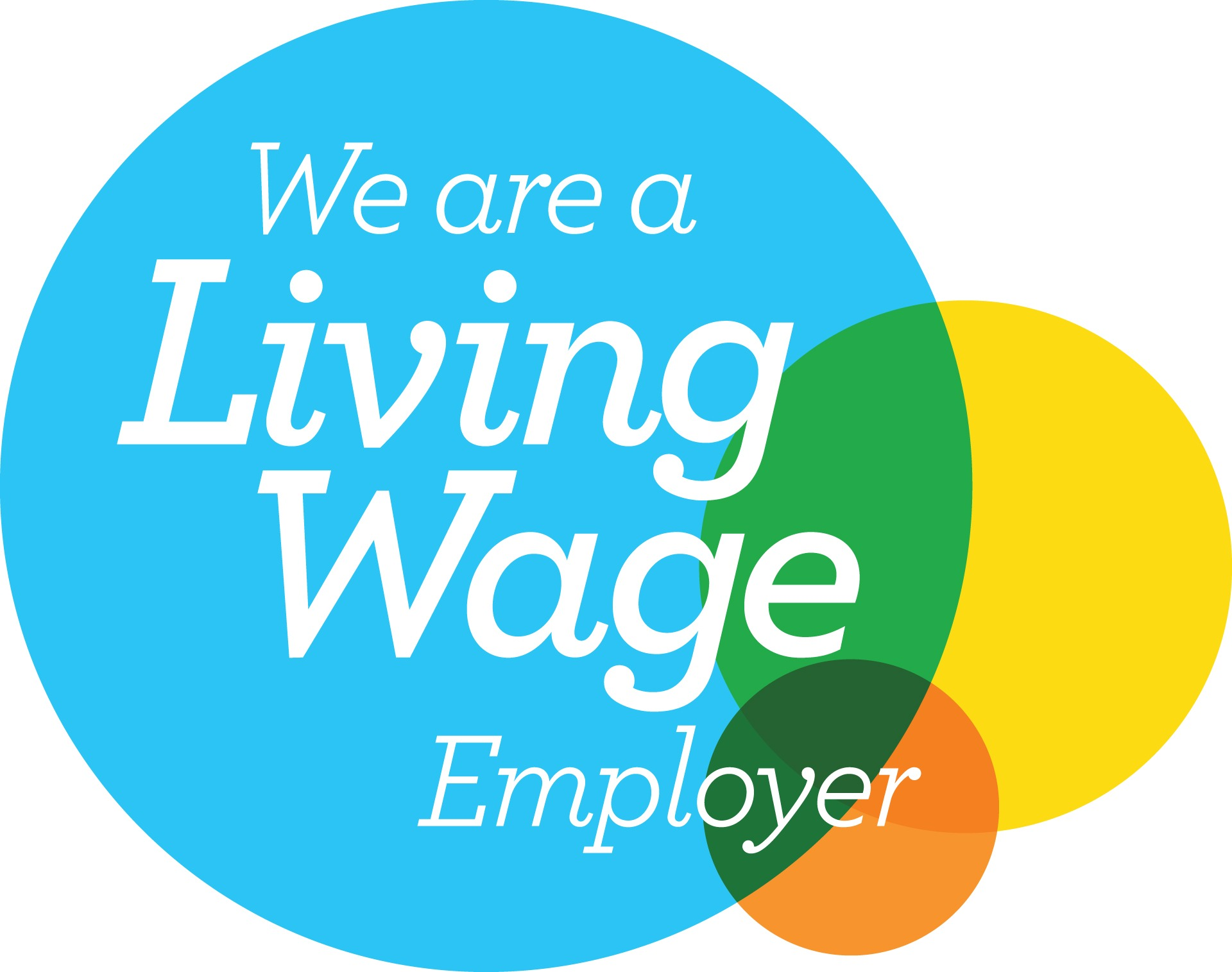 We're Accredited as a Living Wage Employer