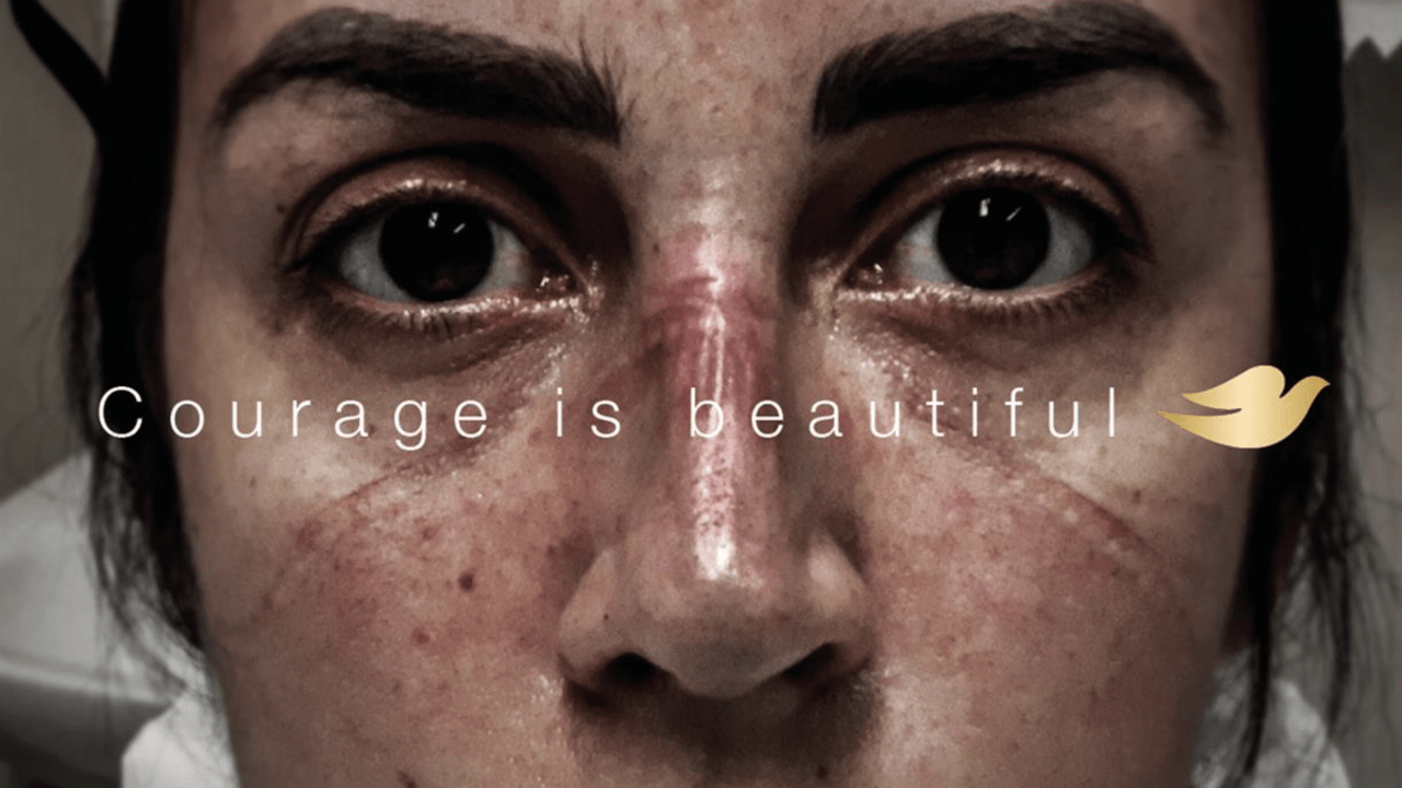 Courage is beautiful - Dove